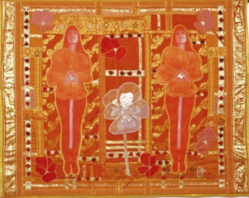 1999 Kultainen orvokki (Golden Violet) 134 x 184