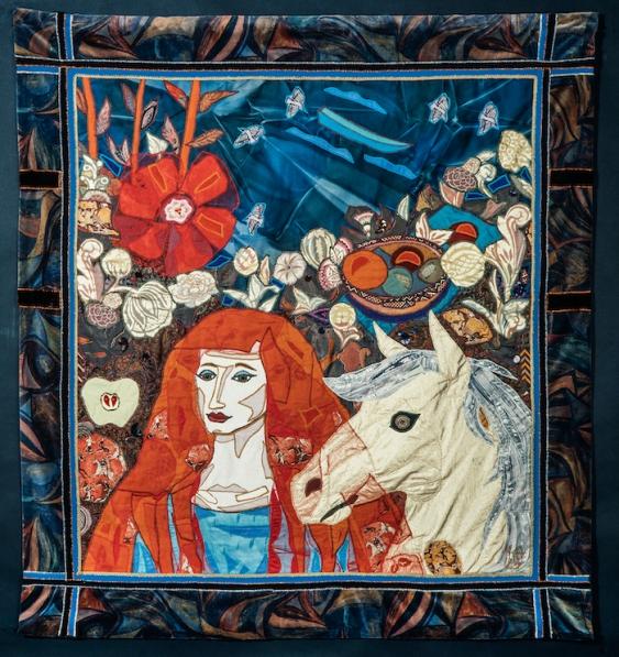 1994 Hibiskusvieras (Hibiscus Friend) 147 x 136