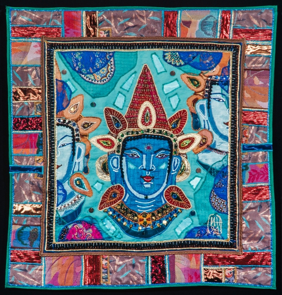 1995 Paperibuddhan hymy (Buddha) 86 x 83